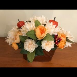 Handcrafted Fall Floral Centerpiece